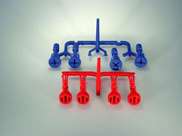 Kühlerablass-Schrauben aus POM