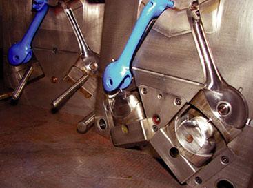 Bremshebel rechts und links 1+1 fach aus PA6 GF30